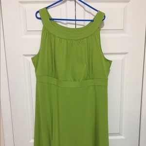 NWT Lane Bryant Green Dress 22/24